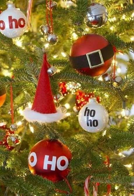 60. Bolas de natal temáticas. Foto de Pinterest