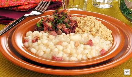 Canjica com carne-seca | Stela Handa | Produção: Stela Handa/Maria Olinda Cabral