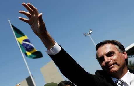 Candidato do PSL à Preidência, Jair Bolsonaro 03/05/2018 REUTERS/Nacho Doce