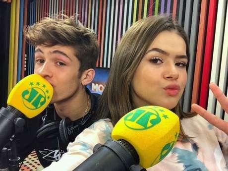 """Maisa Silva e João Guilherme participam do """"Morning Show"""" e falam sobre o filme """"Tudo Por Um Pop Star"""" e mais curiosidades!"""