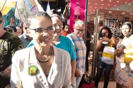 Marina Silva ficou com apenas 1% dos votos válidos nas eleições
