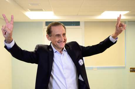 O candidato a governador, Paulo Skaf (MDB)