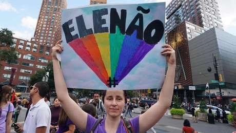 Frase 'Ele Não' ficou ficou conhecida após ser usada em protestos contra Jair Bolsonaro