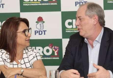 Ciro Gomes e Kátia Abreu formam chapa do PDT à Presidência da República