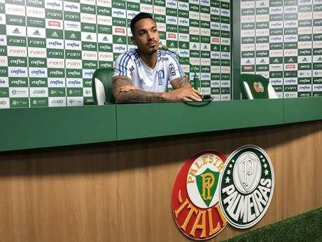 Antônio Carlos comemora por ver o Palmeiras entre as melhores defesas do Campeonato Brasileiro (Thiago Ferri)