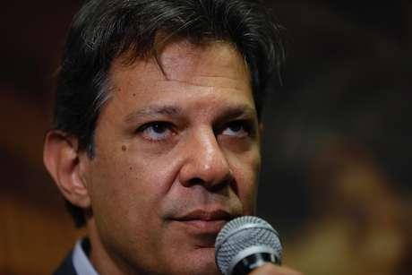Candidato do PT à Presidência da República, Fernando Haddad, deu entrevista coletiva para a imprensa estrangeira, nesta quarta-feira, 10, em São Paulo