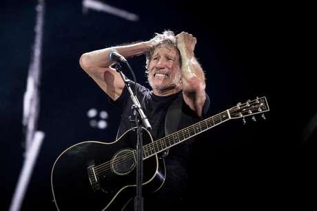 Apresentação do cantor inglês Roger Waters que ocorreu nesta terça-feira (09), no Allianz Parque, em São Paulo
