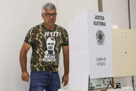 Major Olímpio é presidente do PSL-SP e foi eleito deputado federal nestas eleições