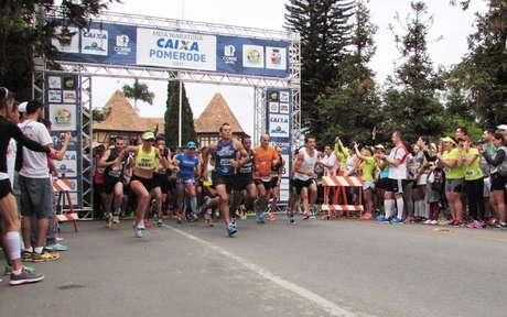 Inscrições para Meia Maratona Caixa de Pomerode (SC) encerram dia 12