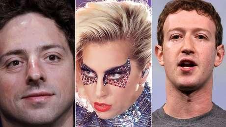O cofundador do Google, Sergey Brin, Lady Gaga e Zuckerberg, do Facebook, passaram pelo Centro para Jovens Talentosos da Universidade Johns Hopkins