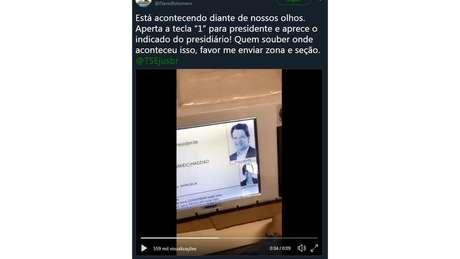 Tuíte de Flavio Bolsonaro teve 17 mil compartilhamentos; após pronunciamento do TSE, ele tirou postagem do ar