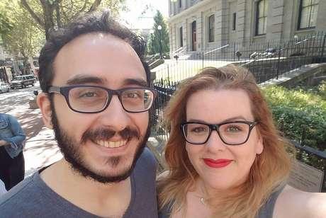 Mehmet e Jacquelyn, 31 e 33 anos, moram em Nova York. Eles estão casados há dois anos