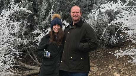 Natalie e Quincy Seale, 29 and 32, têm o próprio negócio e moram no Texas