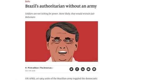 Novo artigo da The Economist publicado nesta quinta-feira