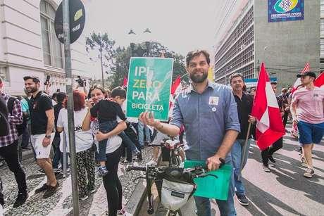 Goura, deputado estadual eleito pelo PDT do Paraná