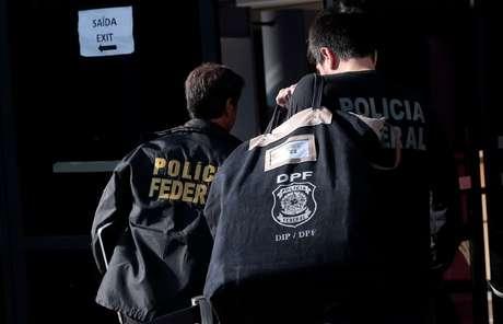 Agentes da Polícia Federal 21/06/2018 REUTERS/Leonardo Benassatto