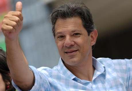 Candidato do PT à Presidência, Fernando Haddad 05/10/2018 REUTERS/Washington Alves