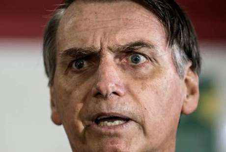 O candidato à Presidência da República pelo PSL, Jair Bolsonaro