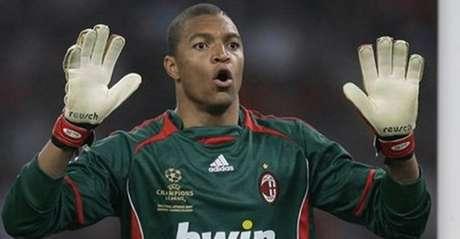 O brasileiro Dida, ídolo do Milan, foi um dos poucos negros de carreira longeva em um grande clube europeu