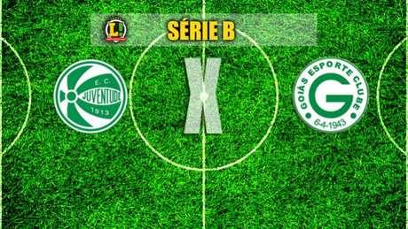 Juventude x Goiás - Série B
