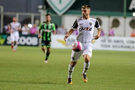 Tomás fez seu primeiro gol como profissional contra o América-MG - (Foto: Bruno Cantini / Atlético-MG)