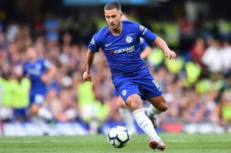 Hazard afastou possibilidade de deixar o Chelsea em janeiro (Foto: Glyn Kirk/AFP)
