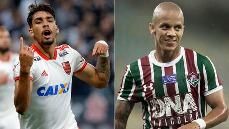 """Paquetá e Marcos Jr surgem como alternativas de """"camisas 10"""" (Fotos: Daniel Vorley/AGIF e Jorge Rodrigues/Eleven)"""