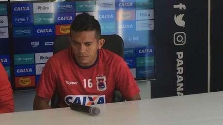 Igor pede para o Paraná não se entregar (Foto: Rádio Transamérica Curitiba)