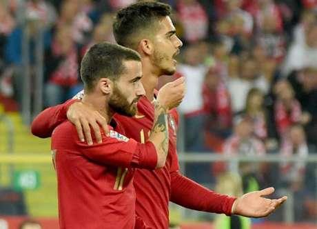 Rafa foi o único Silva a não marcar na vitória de Portugal (Foto: Janek Skarzynski / AFP)