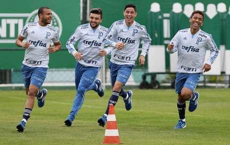 Sem Marcos Rocha e Victor Luis, Palmeiras entra com efeito suspensivo por Mayke e Diogo (Foto: Cesar Greco)