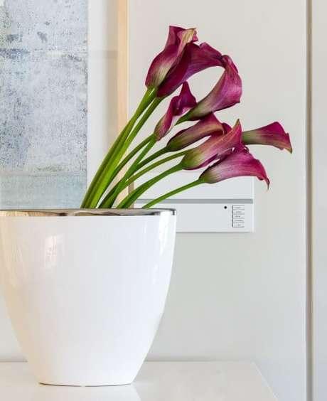 4. As flores e plantas são ótimas maneiras de como deixar a casa cheirosa. Projeto de Marilia Veiga