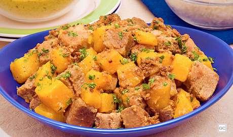 4. Cozido de porco com abóbora
