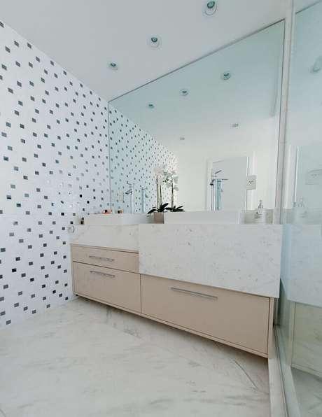 54. Decoração para banheiro planejado moderno – Foto: Archdesign Studio