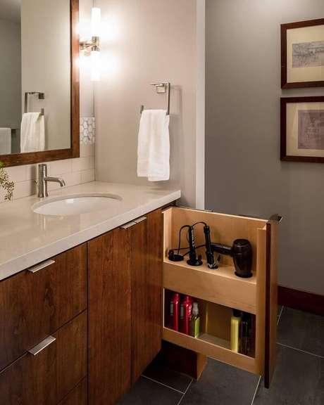 4. Invista em móveis planejados para banheiro – Foto: My Romodel