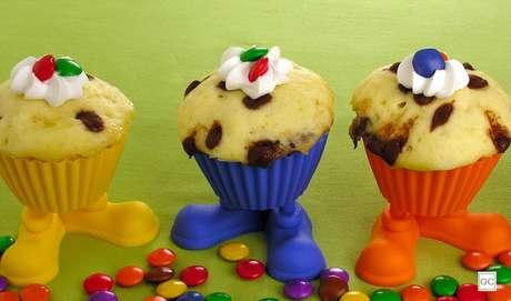 4. Muffin de micro-ondas: outra opção rapidinha para fazer com as crianças