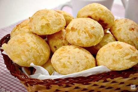 Pão de queijo simples
