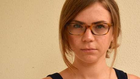 Lizzie foi diagnosticada com anorexia pela primeira vez aos 12 anos