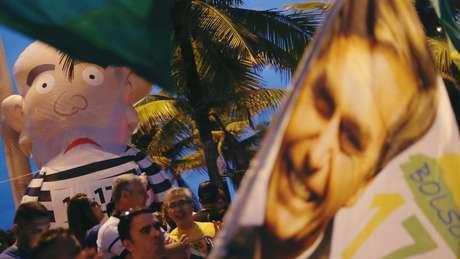 Candidatura do subtenente foi trunfo usado pela campanha de Bolsonaro para tentar desfazer a associação de sua imagem à discriminação racial