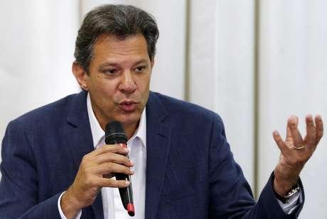 Candidato do PT à Presidência, Fernando Haddad 08/10/2018 REUTERS/Rodolfo Buhrer