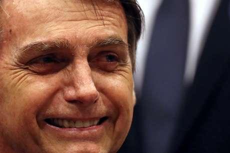 Candidato do PSL à Presidência, Jair Bolsonaro 11/10/2018 REUTERS/Ricardo Moraes