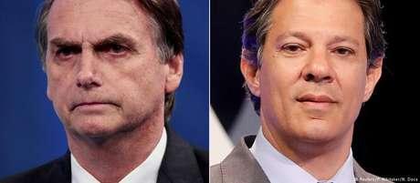 Bolsonaro e Haddad se enfrentam no segundo turno das eleições em 28 de outubro