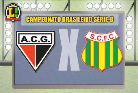 Apresentação Sampaio Correa x Atlético-GO Brasileirão Série-B