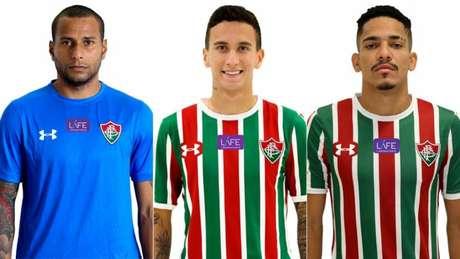 Rodolfo, Dodi e Gilberto tem contrato encerrando no final do ano (Foto: Reprodução/Divulgação)