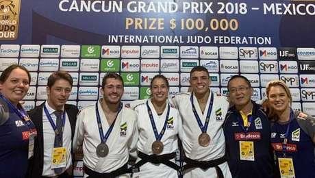 Victor Penalber (81kg) foi prata e Aléxia Castilhos (63kg) e Marcelo Contini (73kg) ficaram com o bronze