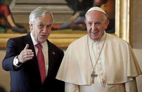 Papa Francisco recebe presidente do Chile, Sebastián Piñera, no Vaticano