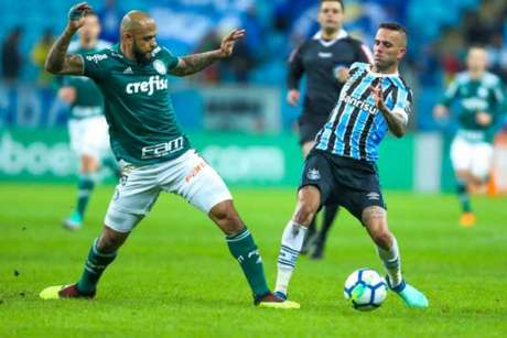 Último duelo: Grêmio 0 x 2 Palmeiras - 6/6/2018