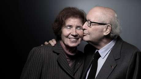 Serge e Beate se casaram três anos depois de se conhecerem