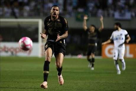 O último gol marcado pelo Corinthians aconteceu no dia 26 de setembro (Foto: Ivan Storti/Santos FC)