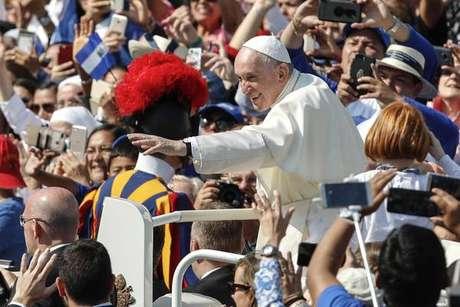 Missa de canonização na Praça São Pedro, Vaticano