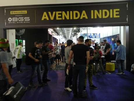"""A """"Avenida Indie"""" da BGS abrigou as produtoras independentes de jogos"""